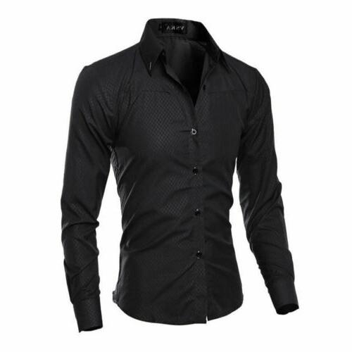 Casual Business Formal Shirts Tops