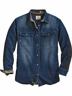 men s shed bounty heavyweight denim long