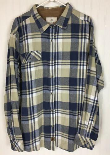 Legendary Camp Flannel Long Sleeve Size
