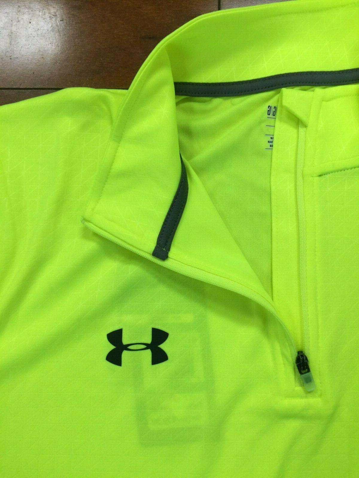 Under Armour Long Sleeve Top Neon Yellow
