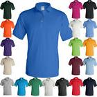 GILDAN Mens Polo Sport Shirt Jersey UNIFORM CASUAL Unisex Ru