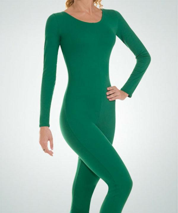 Body Wrappers MT217 Adult Small  Kelly Green Full Body Long