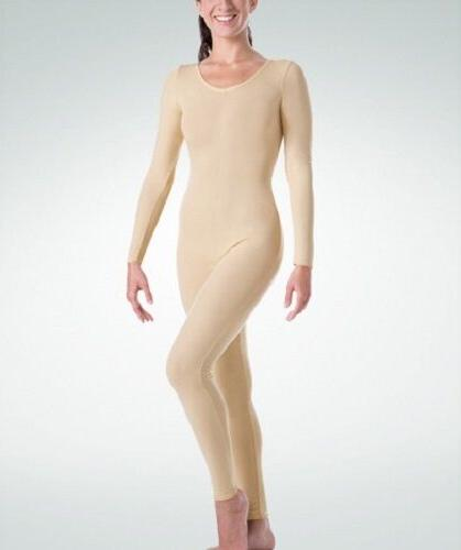 Body Wrappers MT217 Adult Size Medium  Nude Full Body Long S