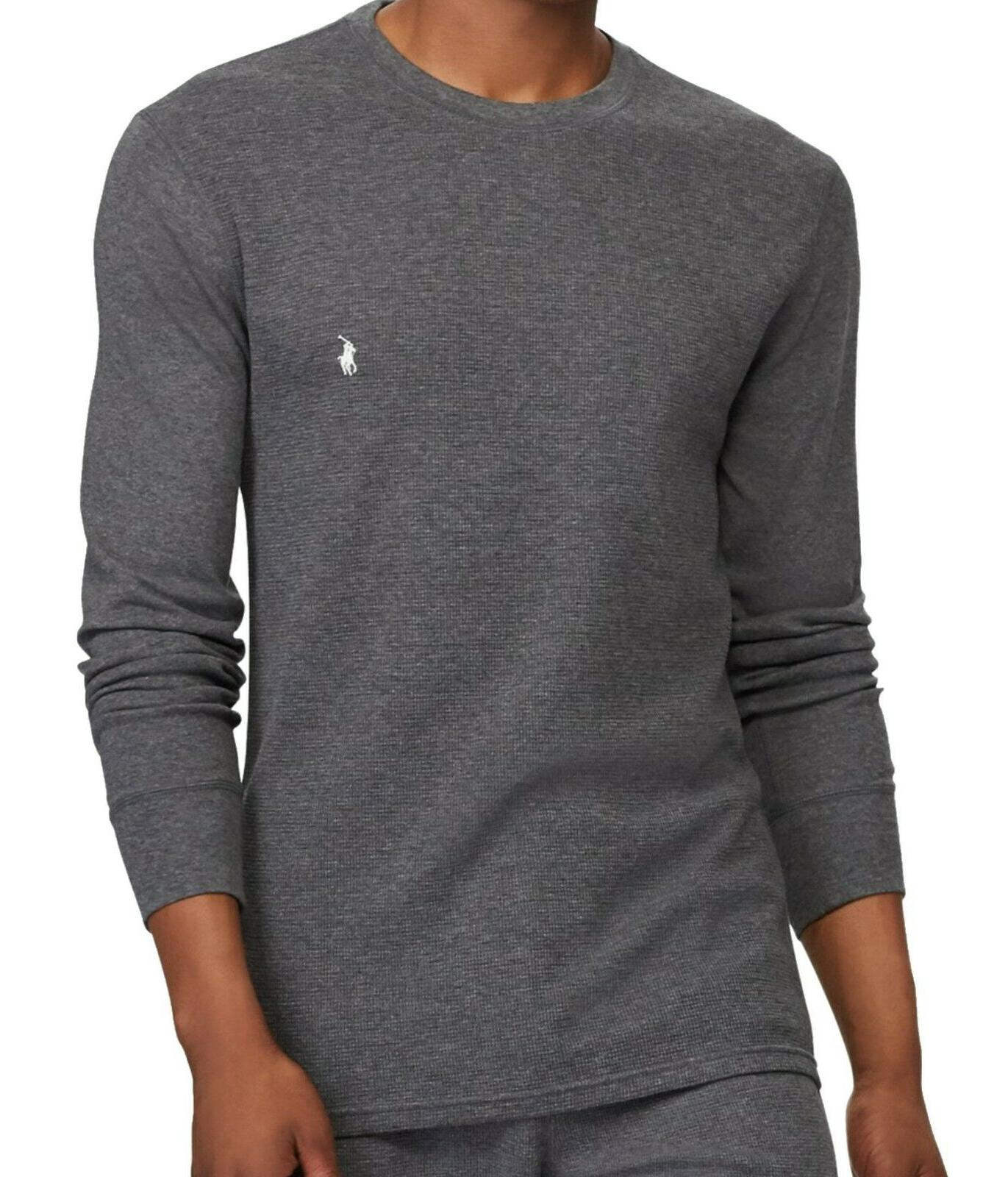 New - Ralph Lauren Mens Waffle Knit Thermal -