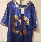 NEW  Adidas Originals Jeremy Scott Sequin football jersey Dr
