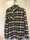 New Adidas Skateboarding Tartan Flannel Shirt Men's Medium