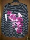 NEW WOMEN'S HANES JUST MY SIZE LONG SLEEVE T-SHIRT TOP SIZE