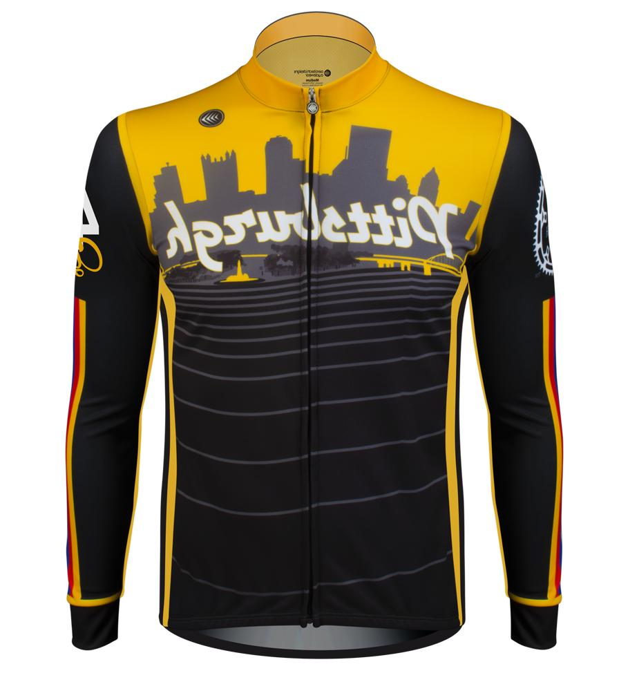 Aero Tech Designs Pittsburgh Long Sleeve Cycling Bike Jersey