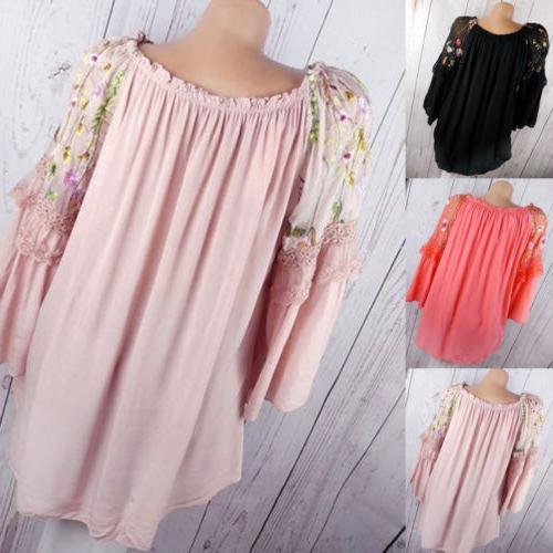 Long Baggy Blouse T Casual