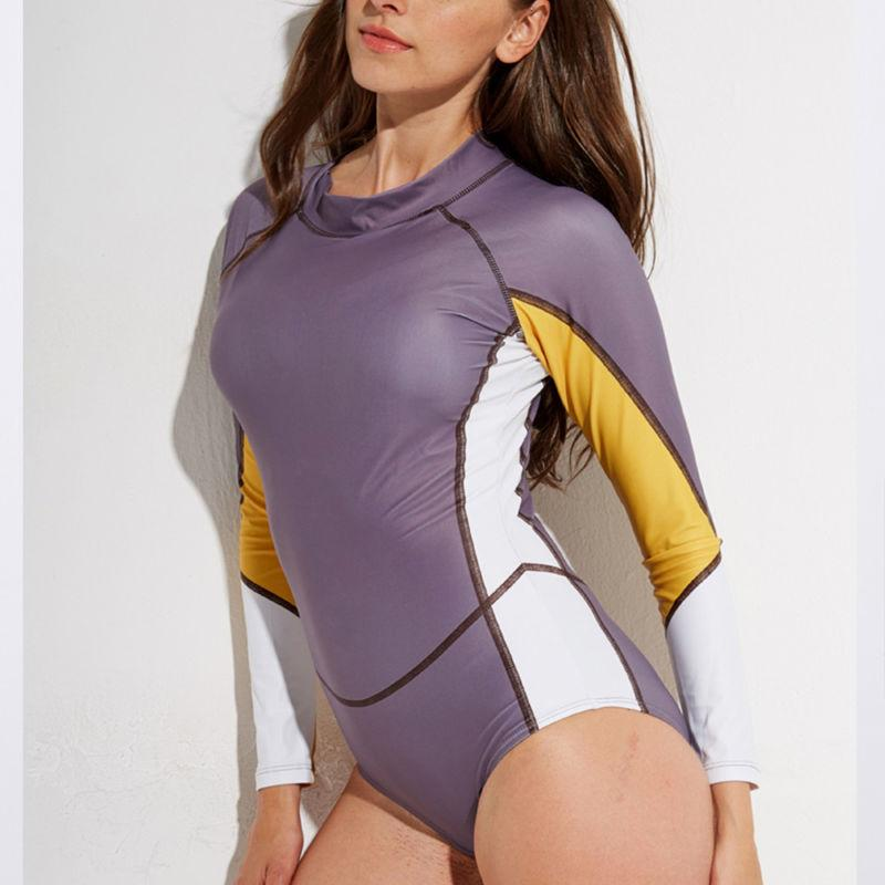 Women's Rashguard One Long Sleeve Surfing
