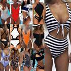 Sexy Women One-Piece Push Up Bikini Bandage Monokini Swimsui