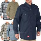 Dickies Shirts Mens Flame Resistant Long Sleeve Twill FR Shi