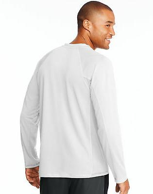 Hanes Sport Mens Long-Sleeve Training DRI X-Temp