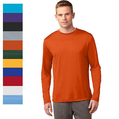 Sport-Tek Men's Long Sleeve Performance Moisture Wicking T-S