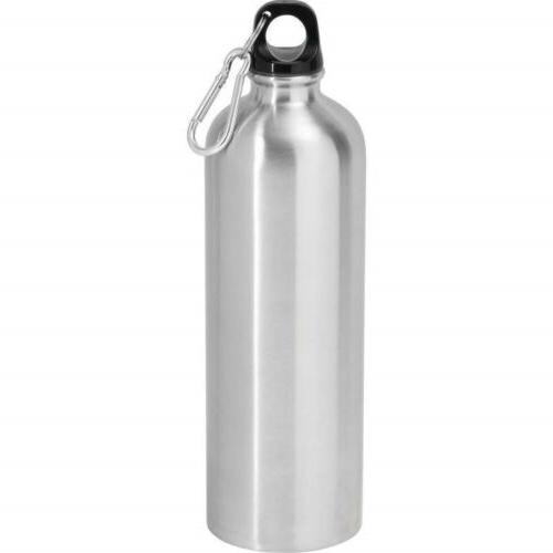 25oz Stainless Steel Sports WATER BOTTLE + Leak Proof Cap Gy