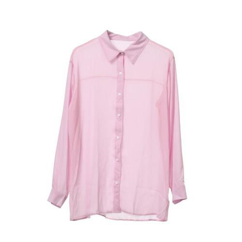 Summer Long Sleeve Casual Shirts M-3XL