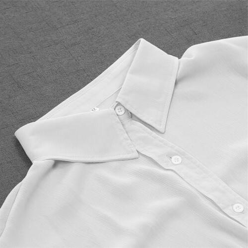 Summer Men's Linen Long Sleeve Shirt Cool Casual V-Neck Shirts