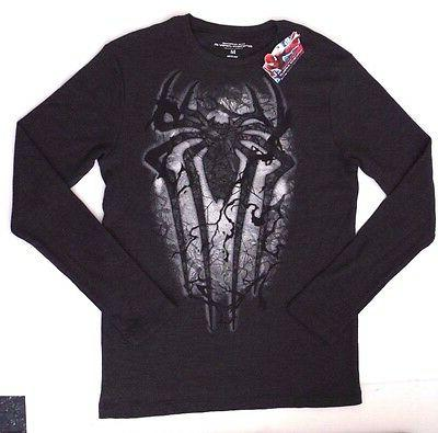 Marvel The Amazing Spider-Man Men's Long Sleeve T-Shirt Size