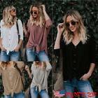 Women Cardigan Knit Long Sleeve Solid Button Down Open Front