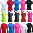 Women Compression Workout Yoga Tops Cycling Jogging T-Shirt