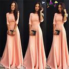 Women Formal Long Ball Gown Party Prom Cocktail Wedding Brid