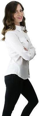 ToBeInStyle Women's Long Button-Down