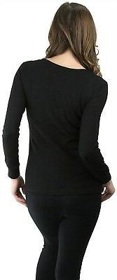 ToBeInStyle Long Sleeve Cotton Thermal