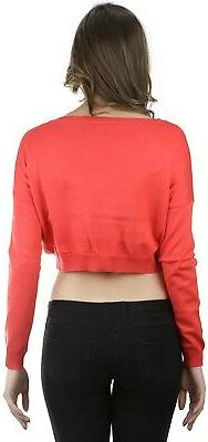 ToBeInStyle Sleeve Cropped Sweater
