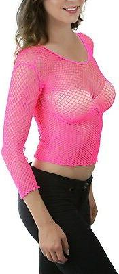 ToBeInStyle Long Spandex Diamond Net