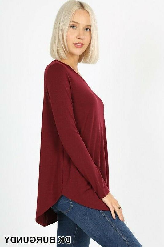 Women's Sleeve Top Casual Basic Fit