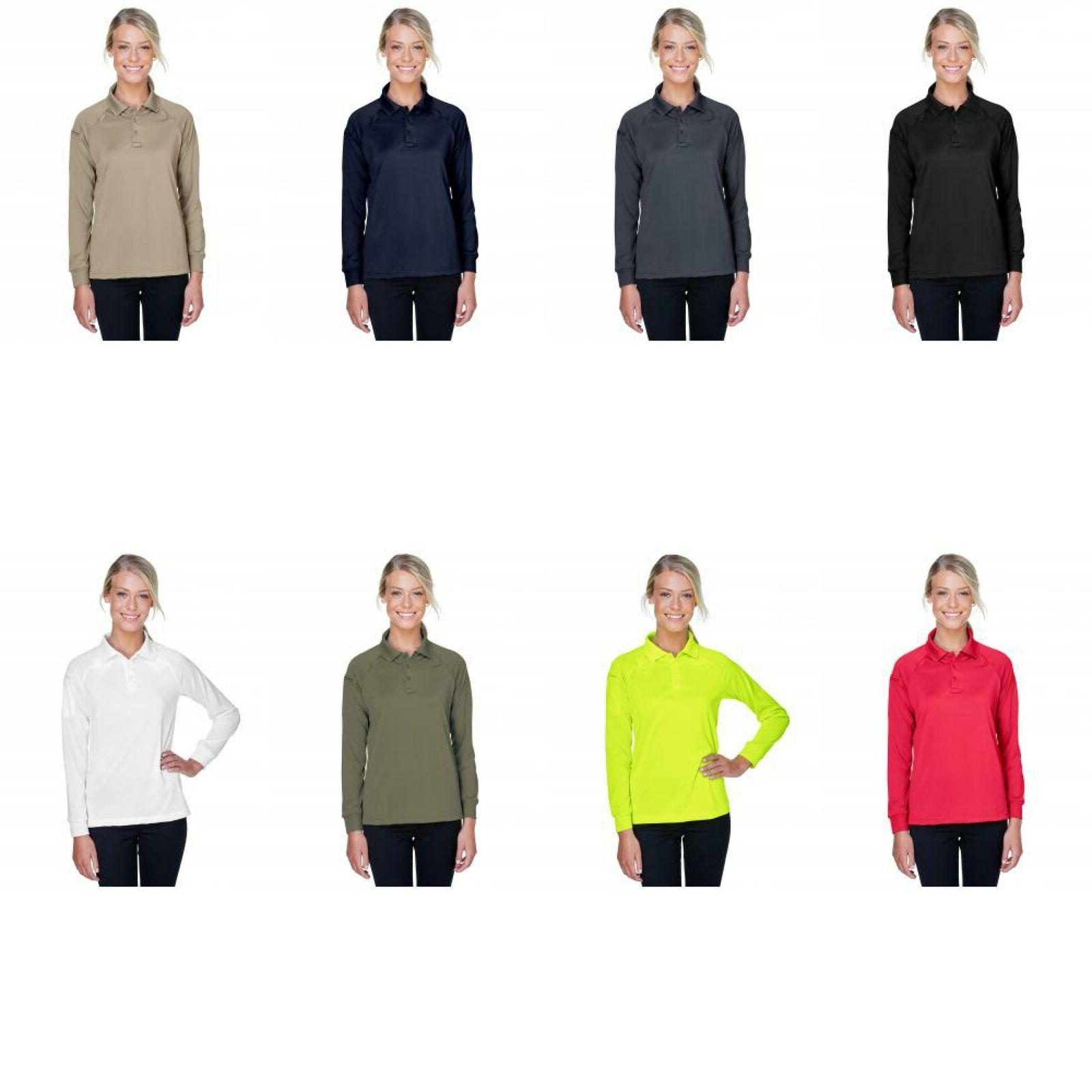women s tactical long sleeve performance polo
