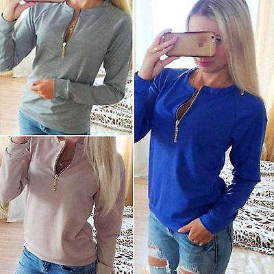 Women Sweatshirt Long Sleeve Pullover Tops