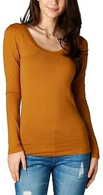 ToBeInStyle Womens' Sleeve Neck T-Shirt