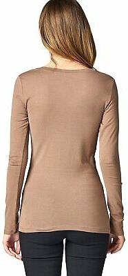 ToBeInStyle Womens' Sleeve Scoop Neck T-Shirt