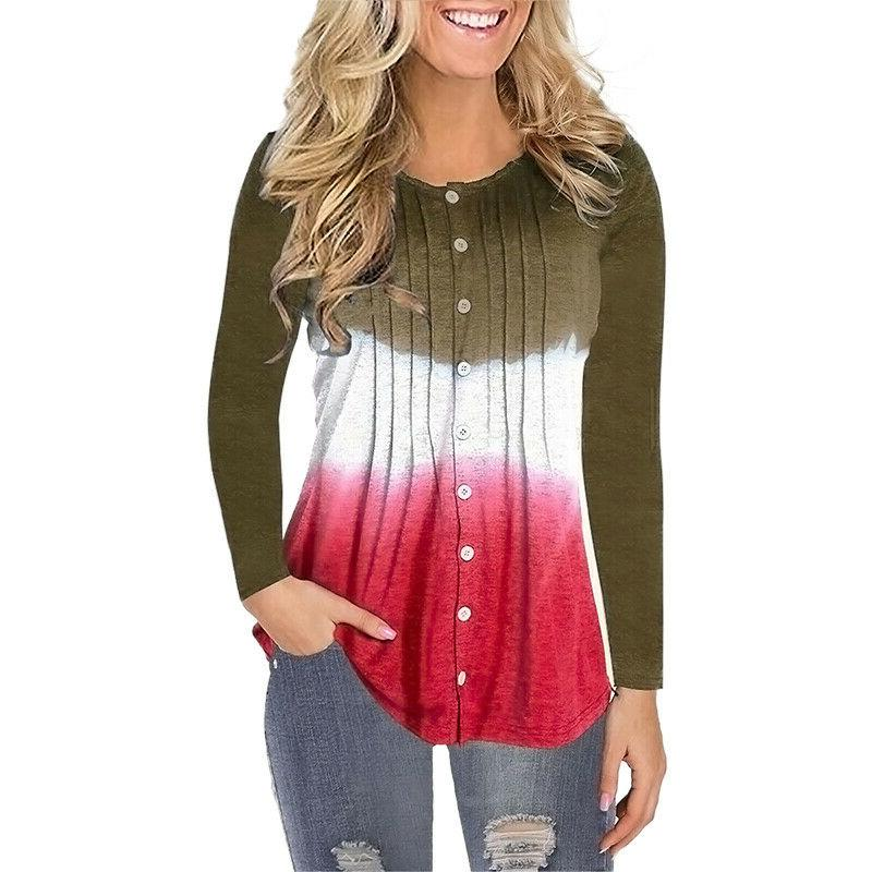 Womens Casual Ruched Baggy Blouse T Ladies Tunic Tops