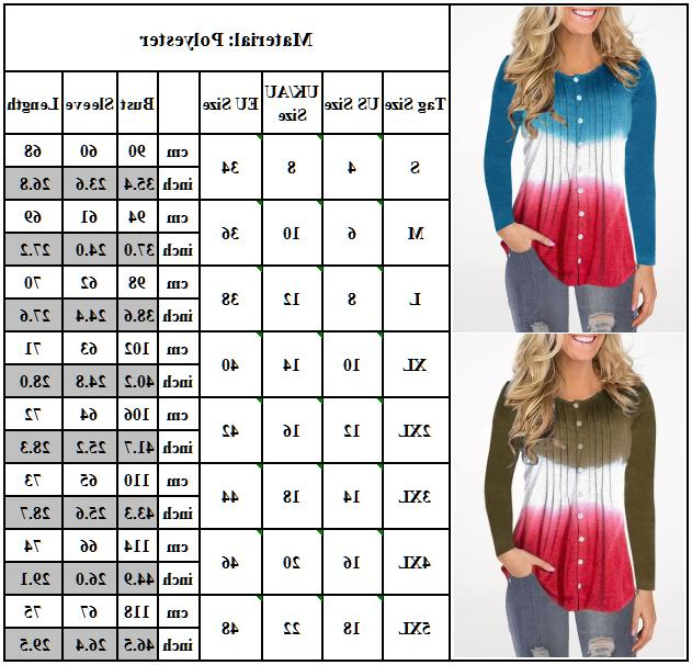 Womens Sleeve Button T Ladies Tops