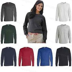 Fruit of the Loom Ladies Heavy Cotton Womens Long Sleeve T-S