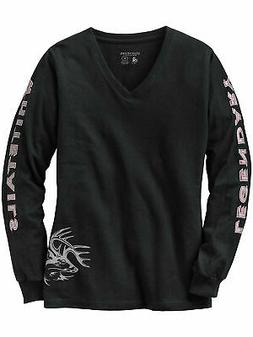 ladies non typical long sleeve tee