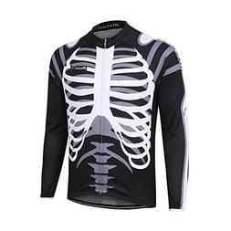 mzcurse Men's Long Sleeve Bicycle Cycling Jersey Shirt Outdo