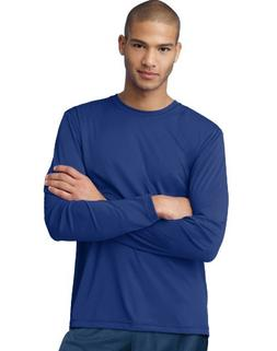 Hanes Men's Long Sleeve CoolDri Performance Tee