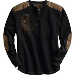 Legendary Whitetails Men's Long Sleeve Cotton Thermal Comman