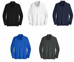 Nike Long Sleeve Dri-FIT Stretch Tech Polo Mens Victory - Ch