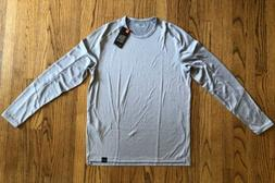Under Armour Long Sleeve Shirt Mens Size Large Gray
