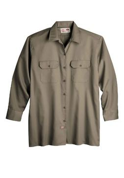 Dickies Long-Sleeve Work Shirt-Big & Tall