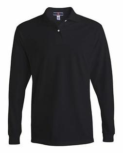 Jerzees Men's 5.6 oz. 50/50 Long-Sleeve Jersey Polo with Spo