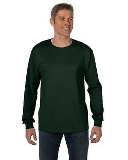 Hanes Men's 6.1 oz. Tagless ComfortSoft Long-Sleeve Pocket T