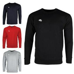 Nike Men's Athletic Wear Embroidered Logo Club Crew Neck Gym