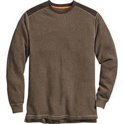 Legendary Whitetails Men's Contour Thermal Crew Walnut Heath