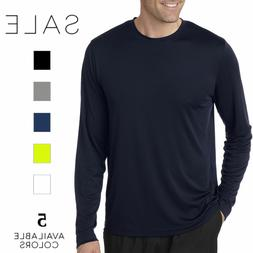 Hanes Men's Cool DRI Performance Long-Sleeve T-Shirt 482L S-