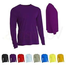 A4 Men's Cooling Performance Crew Long Sleeve Tee, N3165, S-